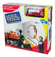 Игрушка для детей поезд на стену wall track 831