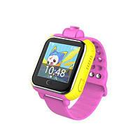 Детские часы Smart wacth Q200 3G, GPS, Android, Игры  Розовый