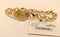 "Часы золотые с браслетом ""Gran Time"", 17 камней. Б/У."