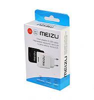 Сетевое зарядное Meizu 2A + кабель microusb