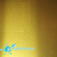 Металл для сублимации  Золото Глянцевое 30*20, 0,45 мм
