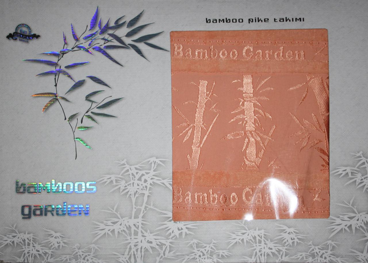 Простирадло махрова GULCAN Bamboos Garden 200*220