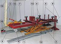 Рихтовочный стапель L4000 Master Bench