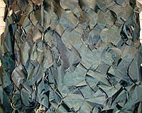Маскировочная сетка, защитная, затеняющая 1,5х6 м Color, темно-зеленая, фото 1