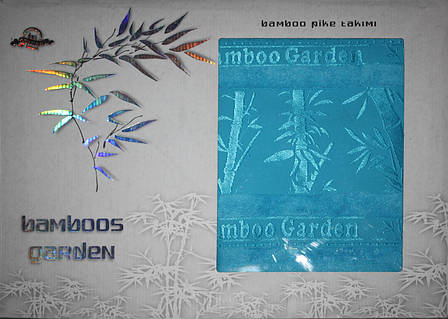 Простирадло махрова GULCAN Bamboos Garden 160*220, фото 2