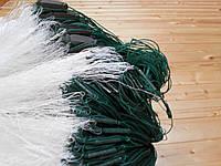Сеть (капрон-монопорежъ)ячейка60. 3х100 для промышленного лова