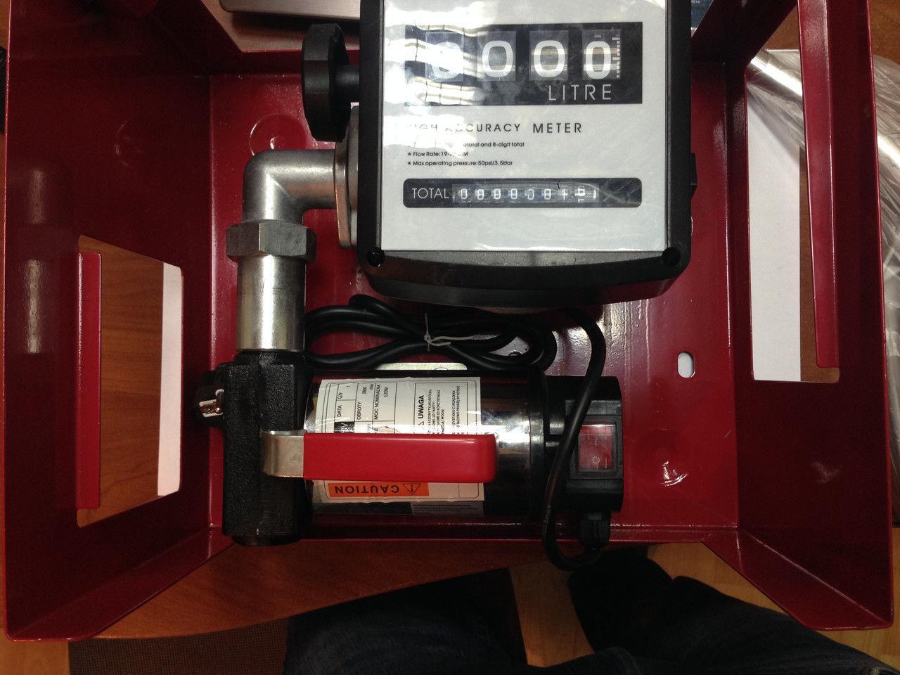 Мини Азс Kraft 40 литров заправка с насосом для перекачки топлива Заправочная станция заправка