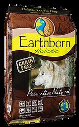 EARTHBORN HOLISTIC Primitive Natural корм для собак на основе мяса курицы 12кг