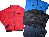 Куртка для мальчиков на флисе, Glo-Story, размеры 134/140-170, арт. BMA-2938