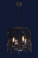 Светильник подвесной LOFT L61SG01-4 BK