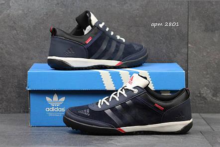 Кроссовки мужские Adidas Daroga темно синие, фото 2