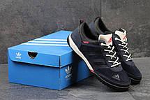 Кроссовки мужские Adidas Daroga темно синие, фото 3
