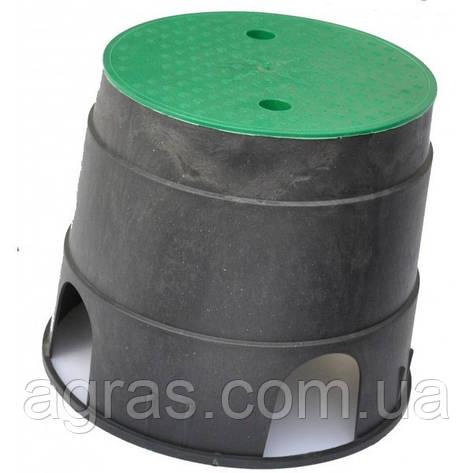 Дренажный колодец (бокс клапанный) круглый большой Irritec (Италия), фото 2