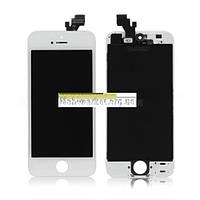 Модуль (сенсор + дисплей LCD) Iphone 5 білий