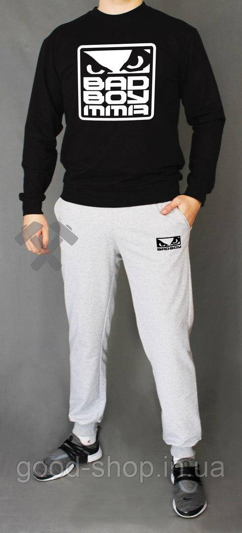 Спортивный костюм Бед Бой мужской, брендовый костюм Bad Boy трикотажный (на флисе и без) копия