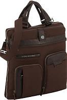 """Практичная мужская сумка с чехлом для ноутбука 13"""" Piquadro SIGNO/D.Brown,CA2911SI_TM коричневый"""