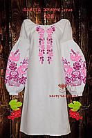 Заготовка жіночої сукні для вишивки Квітуча Країна ПЖ ЕТНО-008