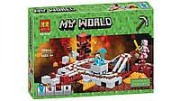 Конструктор Майнкрафт Minecraft Подземная железная дорога Bela 10620 399 деталей