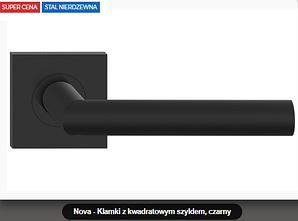 Дверная ручка Metal-bud Nova нержавеющая сталь