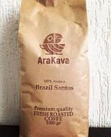 """Кофе в зернах ТМ AraKava """"Brazil Santos"""""""