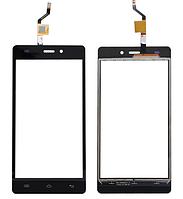 Сенсор (тачскрин) для Doogee X5/X5 Pro черный