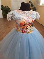 Дитяче плаття - мереживо шаньтильи, будь-який розмір., фото 3