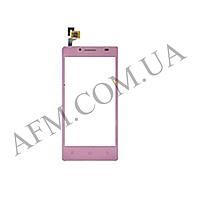 Сенсор (Touch screen) Ergo Smart Tab 4.5 розовый