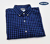 Рубашка мужская фланелевая Old Navy®(США) SlimFit (M)/100% хлопок/Оригинал из США