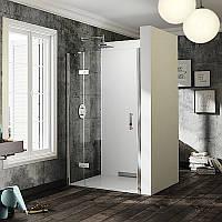 HUPPE SOLVA PURE Дверь распашная с неподвижным сегментом 100*200см для боковой стенки
