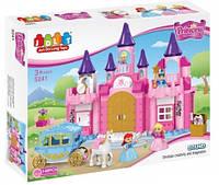 Крупноблочный конструктор JDLT 5241 Замок для принцессы, 140 деталей