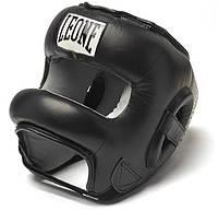 Боксерский шлем с бампером Leone
