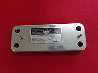 Теплообменник Baxi Westen пластинчатый Zilmet 10 пластин, фото 1