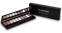 Матовые тени для глаз MAC 10 цветов