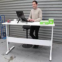 501-15-7W 180: Бюджетный компьютерный стол Conset для работы сидя-стоя с электроприводом