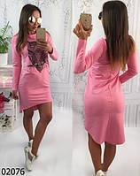 Платье-туника сова