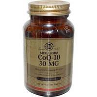 Коэнзим Q10 Мегасорб (CoQ-10, Megasorb), Solgar, 30 мг, 120 капсул