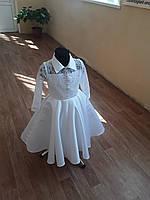 Детское белое платье - кружево ,любой размер.