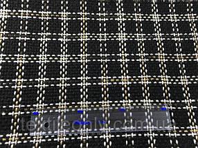 Ткань Пальтовая  клетка ширина 150 см