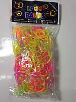 Светящиеся резинки для плетения 600 Микс