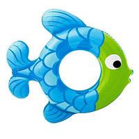 Надувной круг Рыбка Intex 59222 2 цвета, фото 1