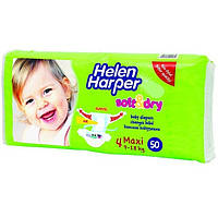 Helen Harper Подгузники Soft&Dry 4 maxi (9-18 кг) 50 шт