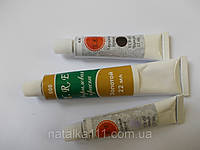 Краска для дизайна ногтей белая 12ml