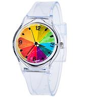 Женские часы на прозрачном ремешке