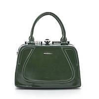 Каркасная женская сумка Gernas зеленая