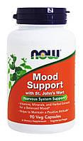 Витамины для поддержки нервной системы и хорошего настроения Мид Супот / NOW - Mood Support (90 caps)