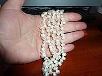 Многослойный жемчужный  браслет