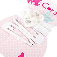 Набор аксессуаров Coralico Heart белый, 4 шт. 229136 ТМ: Coralico