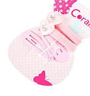 Набор аксессуаров Coralico Heart розовый, 4 шт. 229137 ТМ: Coralico