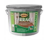 Масло террасное Aura Terrace Escaro корричневое 0,9 л