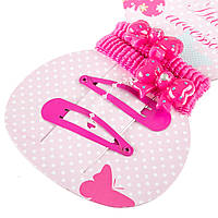 Набор аксессуаров Coralico Knot малиновый, 4 шт.Knot розовый, 4 шт. 229146 ТМ: Coralico